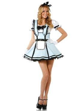 Adult Teacup Tease Alice Costume