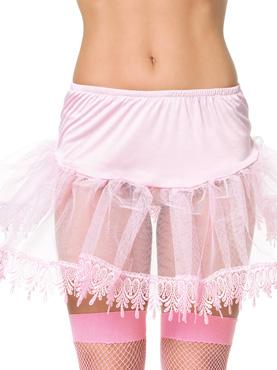 Teardrop Lace Petticoat - Side View