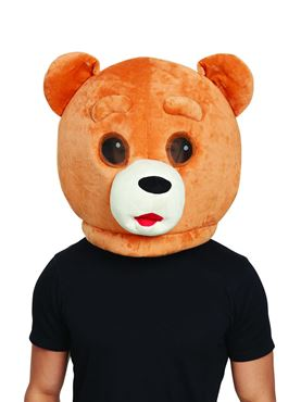 Teddy Bear Mascot Mask