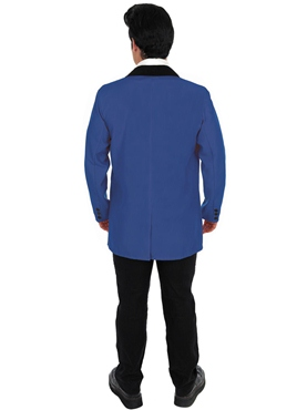 Adult Blue Teddy Boy Costume - Side View