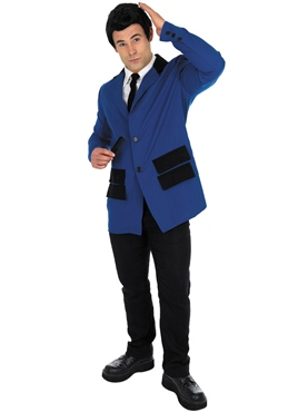 Adult Blue Teddy Boy Costume