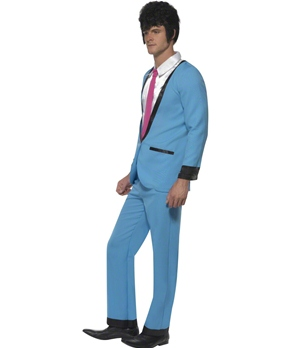 Adult Teddy Boy Costume - Side View