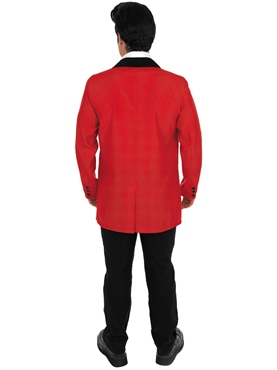 Adult Red Teddy Boy Costume - Side View