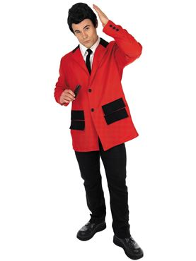 Adult Red Teddy Boy Costume Thumbnail
