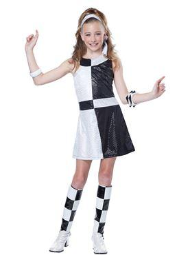 Teen 60s Mod Chic Costume