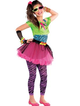 Teen 80's Totally Awesome Costume
