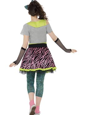 Teen 80s Wild Child Costume - Side View