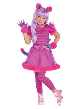 Child And Teen Cheshire Cat Costume