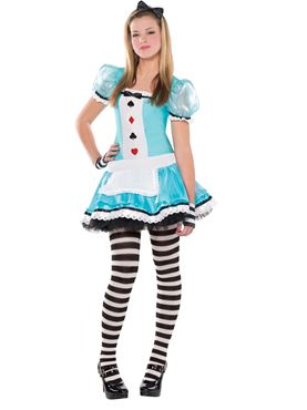 Teen Clever Alice Costume