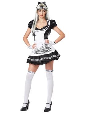 Teen Dark Alice Costume  sc 1 st  Fancy Dress Ball & Teen Dark Alice Costume - 05064 - Fancy Dress Ball