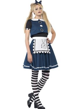 Teen Dark Day Dreamer Alice Costume