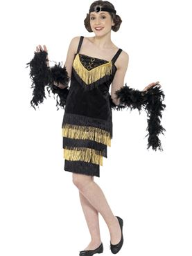 Teen Flapper Girl Costume
