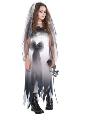 Teen Graveyard Bride Costume
