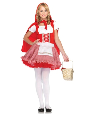 Child Deluxe Lil' Miss Red Costume