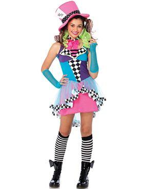Teen Deluxe Mayhem Hatter Costume
