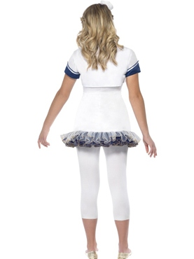 Teen Miss Sailor Girl Costume - Side View