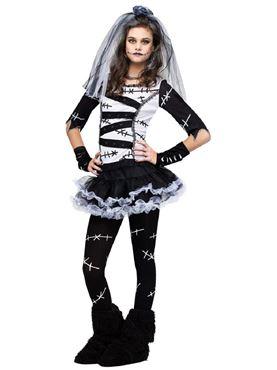 Teen Monster Bride Costume