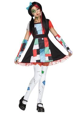 Teen Rag Doll Costume