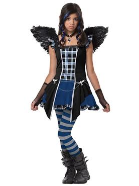 Teen Strangeling Raven Costume