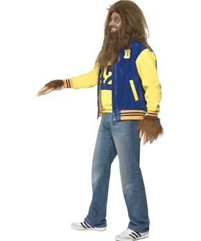 Adult Teen Wolf Costume - Side View