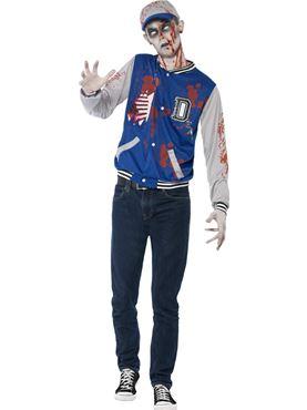 Teen Zombie Jock Costume