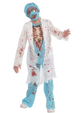 Teen Zombie Surgeon Costume