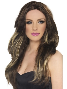 Temptress Long Brown Wig
