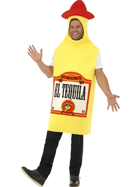 Adult Tequila Bottle Costume Thumbnail