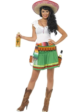Adult Tequila Shooter Girl Costume Thumbnail