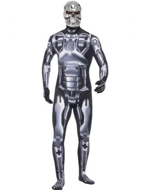 Adult Deluxe Terminator 2 Endoskeleton Costume