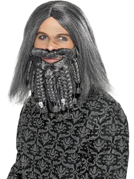 Terror of the Sea Pirate Wig and Beard Set
