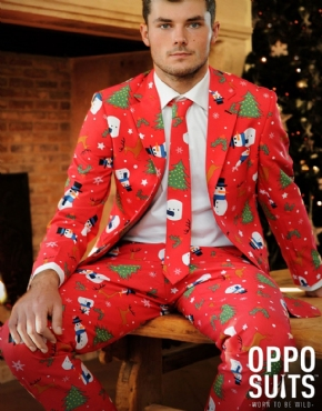 Adult Christmaster Oppo Suit - Side View