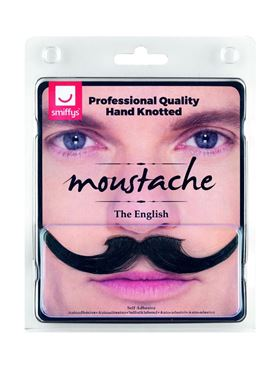 The English Moustache - Back View