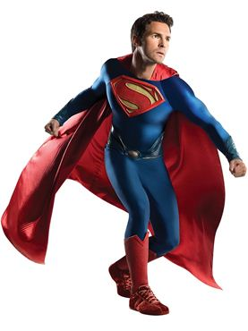 Adult Grand Heritage Superman Man of Steel Theatrical Costume