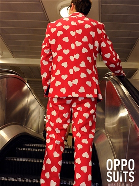 Adult Mr Lover Lover Oppo Suit - Back View