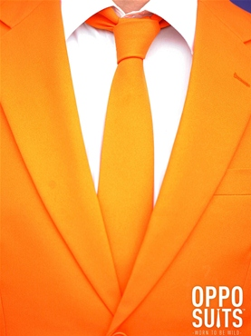 Adult Orange Oppo Suit - Side View