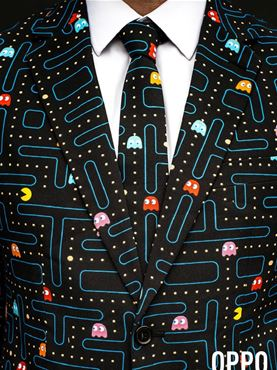 The Pac Man Oppo Suit - Back View
