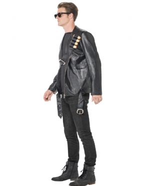 Adult Terminator 2 Judgement Day Costume - Back View  sc 1 st  Fancy Dress Ball & Adult Terminator 2 Judgement Day Costume - 38224 - Fancy Dress Ball