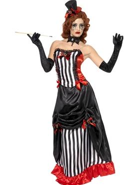 Adult Theatre Macabre Madame Vamp Costume