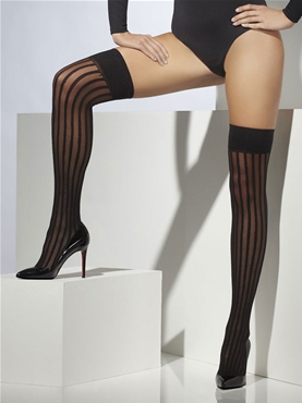 Thigh-High Stockings Black
