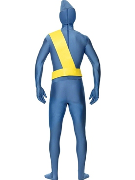 Adult Thunderbirds Second Skin Costume - Back View