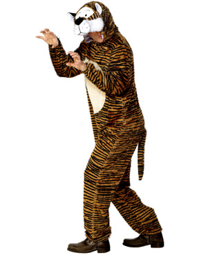 Adult Tiger Costume Thumbnail