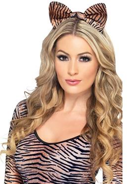 Tiger Print Ears