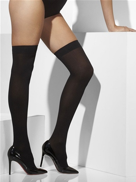Thigh High Stockings Black