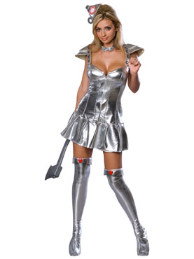 Adult Tin Woman Costume