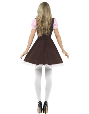 Adult Oktoberfest Tavern Girl Costume - Side View