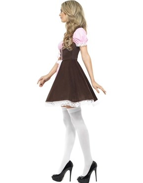 Adult Oktoberfest Tavern Girl Costume - Back View