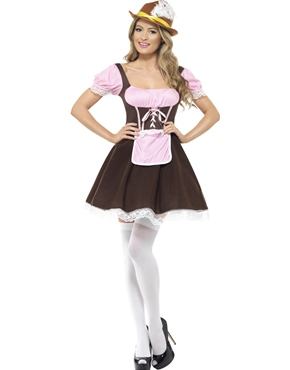 Adult Oktoberfest Tavern Girl Costume Thumbnail