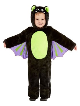 Toddler Bat Costume - Back View