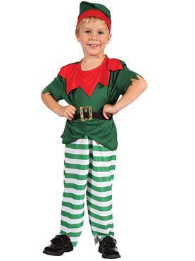 Toddler Boys Santas Little Helper Costume